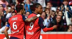 Les compos probables du match de Ligue 1 entre Lille et Angers. AFP