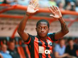 Fred will be playing at Old Trafford next season. AFP