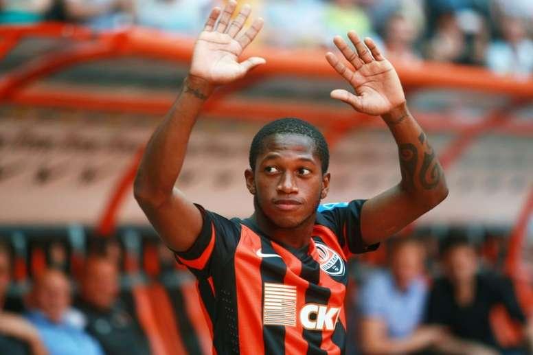 Fred é o novo jogador do United. AFP