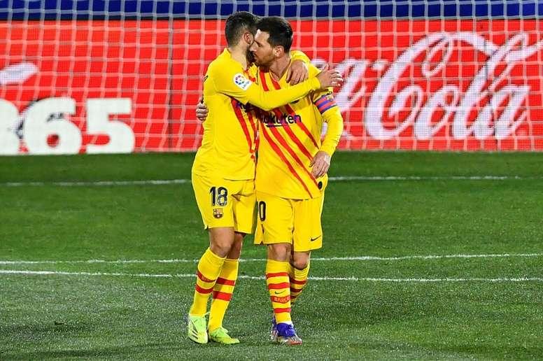 Le Barça gagne mais ne rassure pas. afp