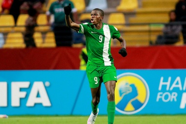 Victor Osimhen was the heroe for Nigeria. AFP