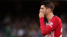 Morata sabe lo que es marcarle al Rayo. AFP