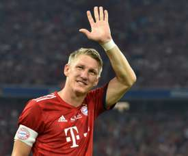 Schweinsteiger prendra sa retraite en fin de saison. AFP