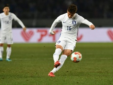 South Korea thrashed fierce rivals Japan 4-1. AFP