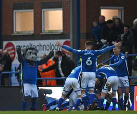 Rochdale fans are not happy with the manager. AFP