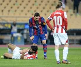 Le FC Barcelone va faire appel de la sanction de Lionel Messi !. afp