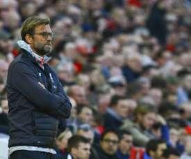 O técnico alemão não conta com o ex-Benfica. AFP