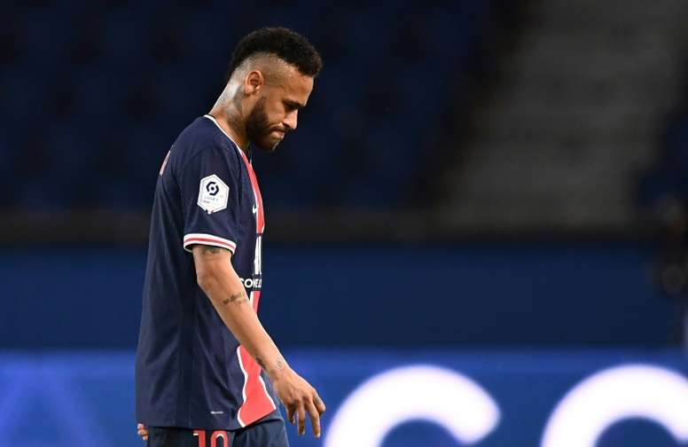 Neymar could be heavily banned. AFP