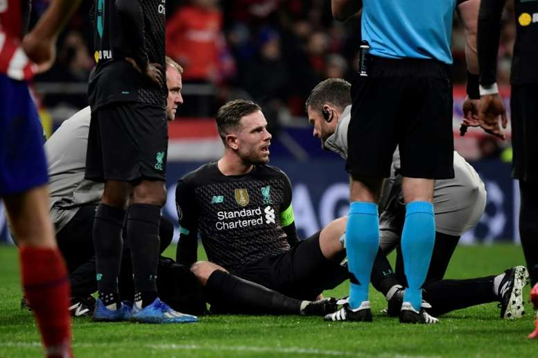 Henderson indisponible trois semaines. AFP