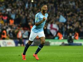 Guardiola spoke about Sterling's fight against racism in football. AFP