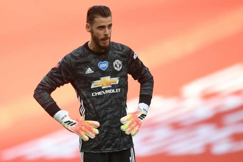 De Gea estime que United peut gagner la Premier League. AFP