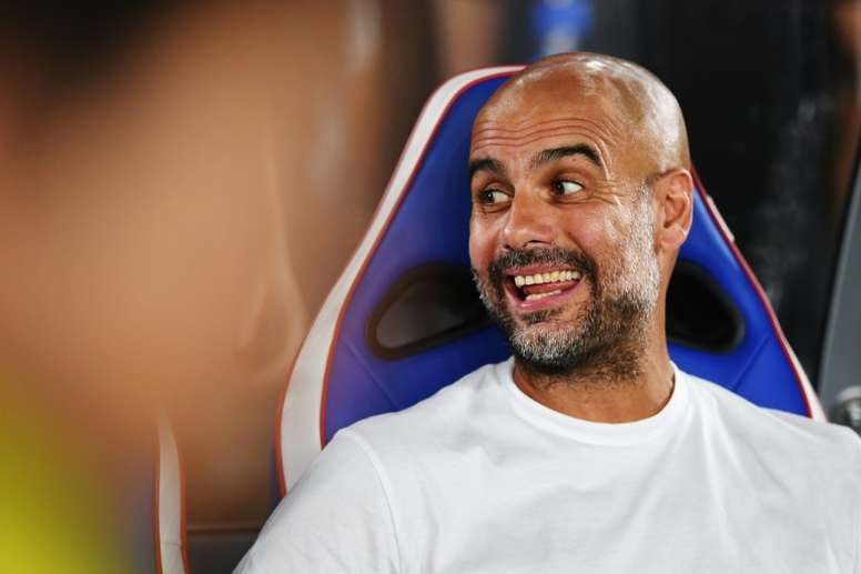 Guardiola will sign youngster Tedic in January. AFP