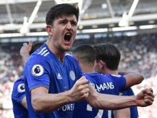 Maguire is the most expensive defender of all time. AFP