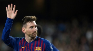 Messi's Barca career is like no other. AFP