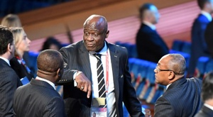 The head of the DRC's FA has been accused of embezzlement. AFP