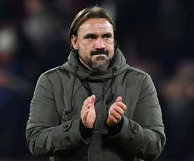 Daniel Farke's side recorded their sixth consecutive league victory. AFP