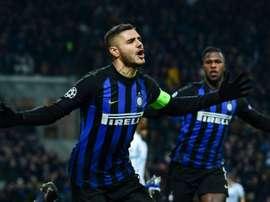 Icardi pode dar ao Real o gol que lhe falta. AFP