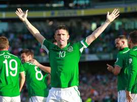 Keane has retired from football after becoming Ireland's new assistant boss. AFP
