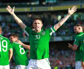 Robbie Keane has called time on a simply outstanding career. AFP