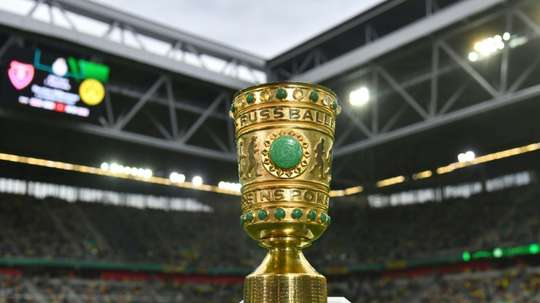 The German Cup final may still take place at a later date behind closed doors. AFP