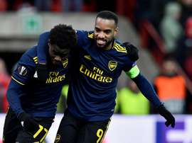Arsenal fight back to claim Europa League last 32 spot. AFP