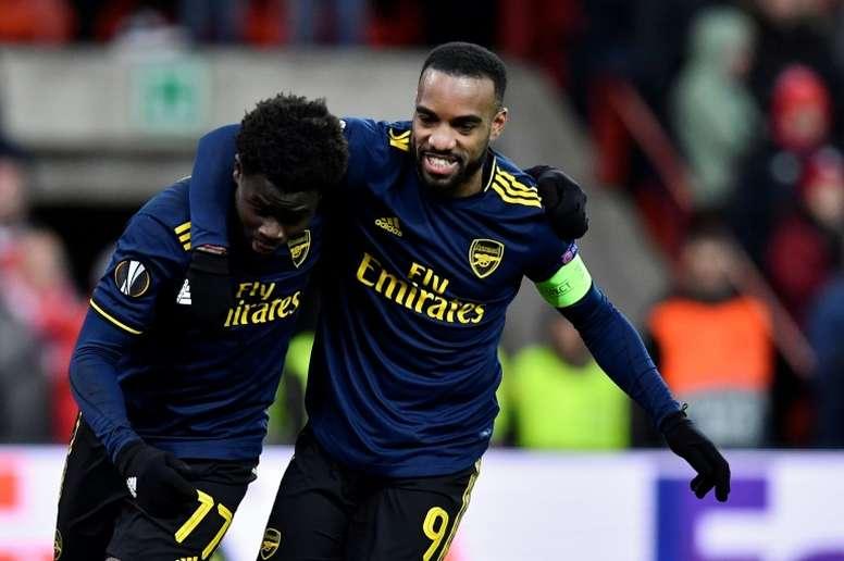 Arsenal fight back to claim Europa League last 32 spot. AFP