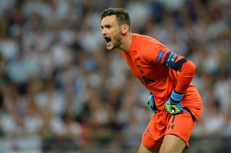 Lloris has signed a deal with Spurs until 2022. AFP