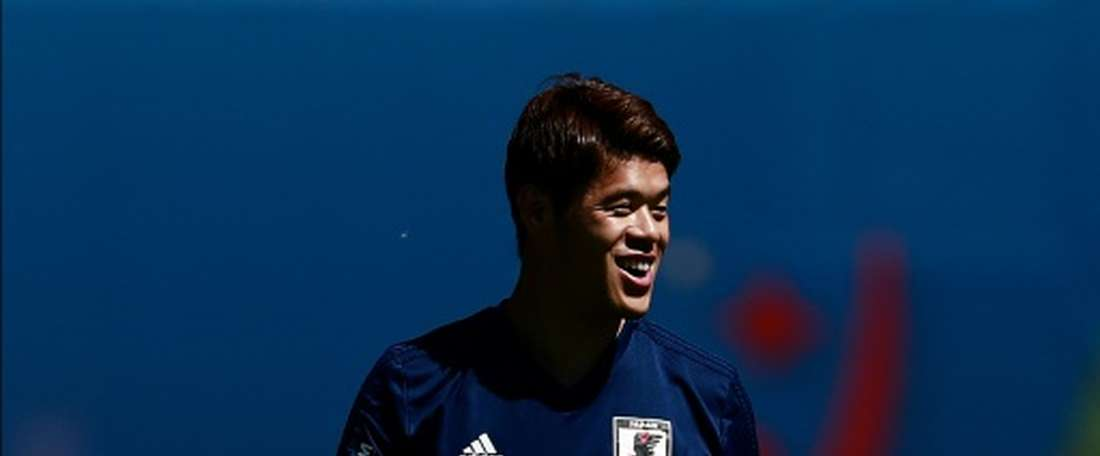 Sakai is expected to be key for Japan in Russia. AFP
