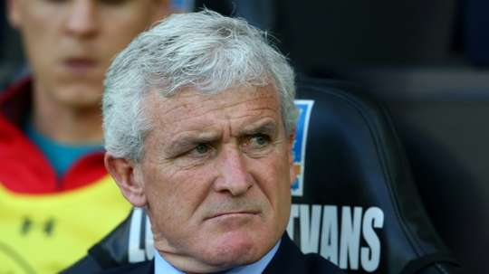 Mark Hughes is under pressure at Southampton. AFP