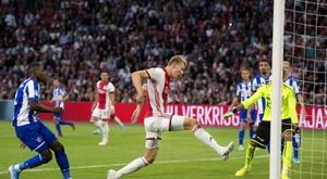 Liverpool want the new De Ligt. AFP