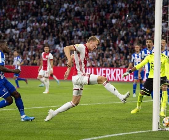 Liverpool prêt à mettre 30 millions pour le nouveau De Ligt de l'Ajax. AFP