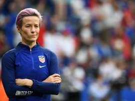 USA edged past England on Tuesday. AFP