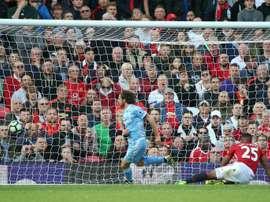 La vuelta de Joe Allen al Swansea se antoja harto complicada. AFP/Archivo