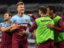 West Ham beat Chelsea 3-2. AFP