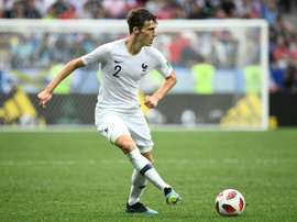Pavard denied having come to an agreement with Bayern. AFP