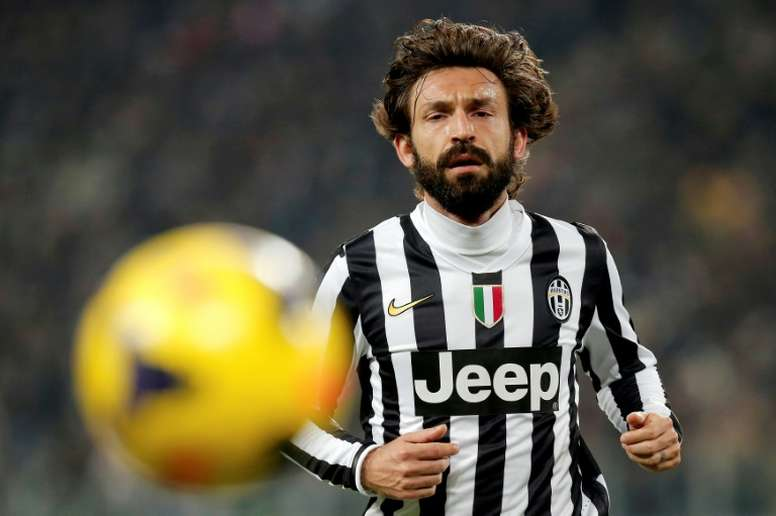 Juventus are hoping Andrea Pirlo can be as successful as Guardiola or Zidane. AFP