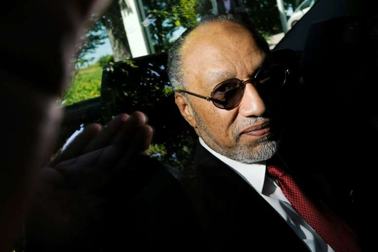 Hammam confirmó que recibió 6,7 millones de Alemania. AFP