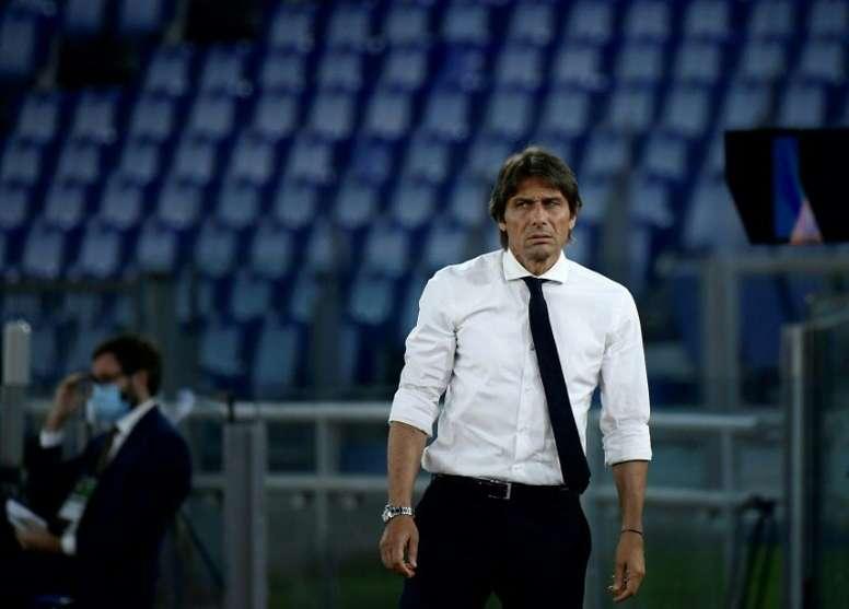 Conte valoró el papel de su equipo. AFP
