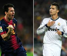 Messi and Ronaldo could have followed totally different paths. AFP
