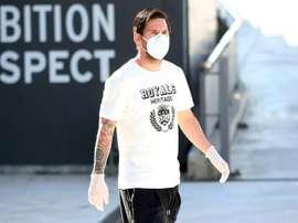 Leo Messi spoke about football post-coronavirus. AFP