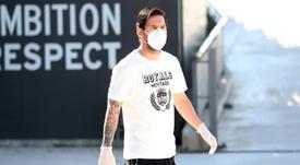 Leo Messi évoque la pandémie de Covid-19 et l'avenir du football. AFP