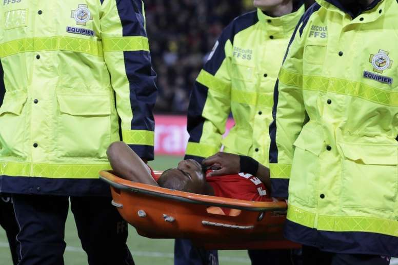 The Monaco defender is expected to be back to fitness for the World Cup. AFP