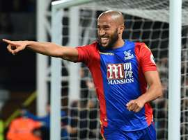 Crystal Palaces English midfielder Andros Townsend