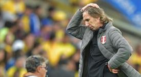 Gareca took heart from massive improvement Peru have shown. AFP