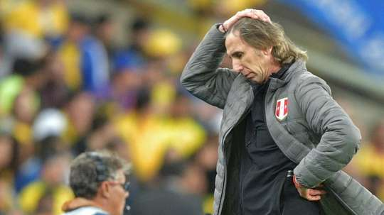 Gareca took heart from massive improvement Peru have shown. AFP
