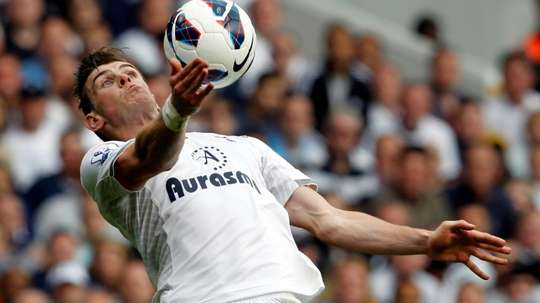 Gareth Bale could be a Tottenham player in the next few days. AFP