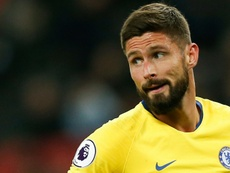 Giroud has recorded his fourth driving offence in less than one year. AFP