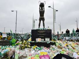 Billy McNeill died in April after suffering from dementia. AFP