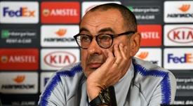La Juventus passe à l'action pour Maurizio Sarri. AFP
