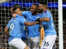 'Spectacular' De Bruyne helps Man City end Leicester's unbeaten run. AFP